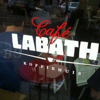 Photo taken at Café Labath by Kim v. on 7/6/2012