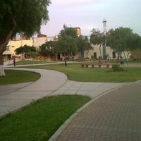 Photo taken at Parque San Andres by Miguel B. on 8/15/2012