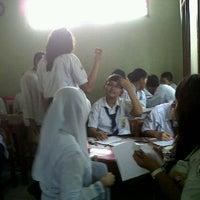Photo taken at IX-5 SMP Negeri 30 Bekasi by rina p. on 2/24/2012