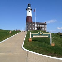 Photo taken at Montauk Point Lighthouse by David S. on 5/10/2012