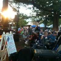 Photo taken at Jazz On The Plazz by Vickie C. on 8/16/2012