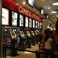 Photo taken at Cines Unidos by Luis B. on 9/5/2012