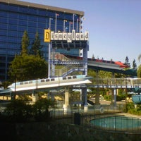 Photo taken at Disneyland Hotel by Donna M. on 8/16/2012