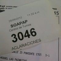 Photo taken at SOAPAP by Alex O. on 6/28/2012