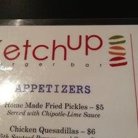 Photo taken at Ketchup Burger Bar by Ven V. on 7/24/2012