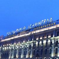 Photo taken at Октябрьская / Oktiabrskaya by Ivan S. on 4/22/2012