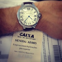 Foto tirada no(a) Caixa Econômica Federal por Igor B. em 7/18/2012