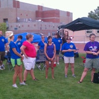 Photo taken at American Cancer Society Relay For Life by Scott N. on 7/14/2012