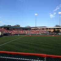 Photo taken at Doug Kingsmore Stadium by Clemson T. on 2/17/2012