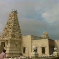 Photo taken at Hindi Temple Cultural Center by Prashanth S. on 8/26/2012