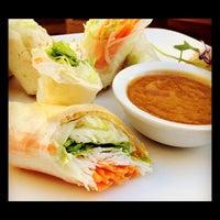 Photo taken at Aura Thai by Aura T. on 2/16/2012
