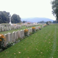 Photo taken at Durnbach War Cemetary by Senne G. on 9/13/2012