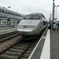 Photo taken at Nantes Railway Station by Yoshiyuki T. on 6/9/2012