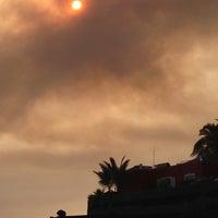 Photo taken at Playa de Charco Verde by Juan Carlos C. on 7/16/2012