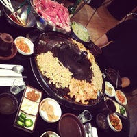 Photo taken at Honey Pig Korean BBQ by Davis D. on 6/15/2012