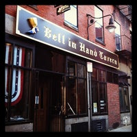 Photo taken at Bell In Hand Tavern by Andrew G. on 2/13/2012