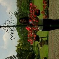 Photo taken at Taman Bunga Nusantara by Amanda Cornella M. on 8/13/2012