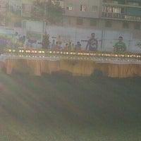 Photo taken at Olimpica Victoriana Club de Futbol by Cisco M. on 6/30/2012