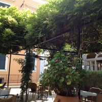 Photo taken at Bella Venezia Hotel Corfu by Chris M. on 9/8/2012
