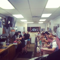 Photo taken at Hudson's Hamburgers by Cptn. R. on 7/4/2012