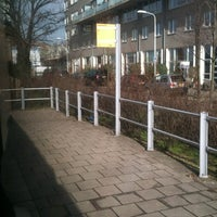 Photo taken at Tramhalte Loosduinseweg (Oost) by Merel V. on 2/20/2012