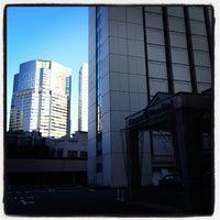 Photo taken at Main Tower by Keiko on 2/19/2012