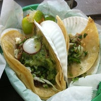 Photo taken at Taqueria Downtown by Marvin on 7/26/2012