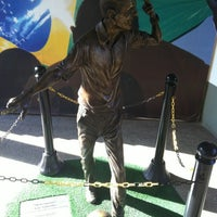 Photo taken at Museu do Futebol by Leonardo R. on 6/16/2012
