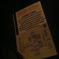 Photo taken at Regal Cinemas Hadley Theatre 16 by Demetrius B. on 3/9/2012