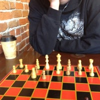 Photo taken at Old Town Coffee & Chocolates by Chelsea C. on 3/12/2012