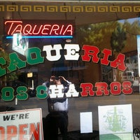 Photo taken at Taqueria Los Charros by Clarence T. on 8/27/2012