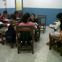 Photo taken at Gajah Mada Learning Center by Josephine F. on 3/9/2012