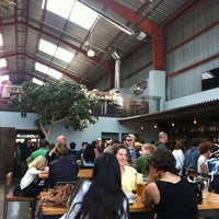 Photo taken at Southern Pacific Brewing by Jackie B. on 5/26/2012