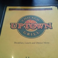 Photo taken at Uptown Chicago Grill by Khadijah S. on 2/10/2012