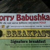 Photo taken at Sorry Babushka by Stuart M. on 9/1/2012