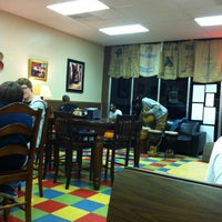 Photo taken at The Getaway Coffeehouse Cafe by Allen M. on 2/25/2012