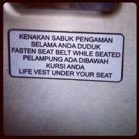 Photo taken at Boarding Flight Sriwijaya by Maria L. on 8/16/2012