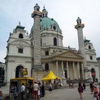 7/28/2012 tarihinde Jaromir S.ziyaretçi tarafından Karlskirche'de çekilen fotoğraf