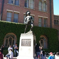 Photo taken at Tommy Trojan by Jason W. on 3/8/2012