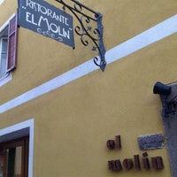 Photo taken at Ristorante El Molin by Carlo V. on 7/28/2012
