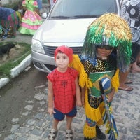 Photo taken at Maracatu Cruzeiro do Forte by Milton L. on 2/19/2012