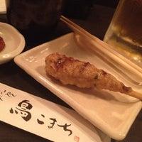 Photo taken at 串焼き処 日比谷 鳥こまち 東京三軒茶屋店 by kom_thai k. on 5/24/2012