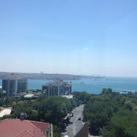 Photo taken at Hilton ParkSA Istanbul by Ömer Enis Ş. on 6/23/2012