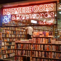 Photo taken at Kramerbooks & Afterwords Cafe by Armie on 7/7/2012
