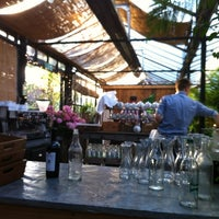 Foto scattata a Petersham Nurseries Cafe da David G. il 6/30/2012