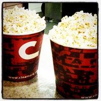 Photo taken at Cinemark by Jennifer M. on 2/14/2012