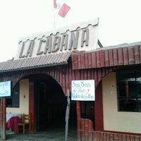 Photo taken at la cabaña by Pedro Arturo V. on 7/29/2012