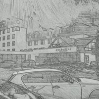 Das Foto wurde bei Hotel Zugbrücke Grenzau von Stefan M. am 3/27/2012 aufgenommen