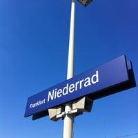 Photo taken at Frankfurt Niederrad Railway Station by Henrik . on 5/24/2012