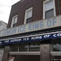 Photo taken at The Lemon Ice King of Corona by Caitlin H. on 6/11/2012